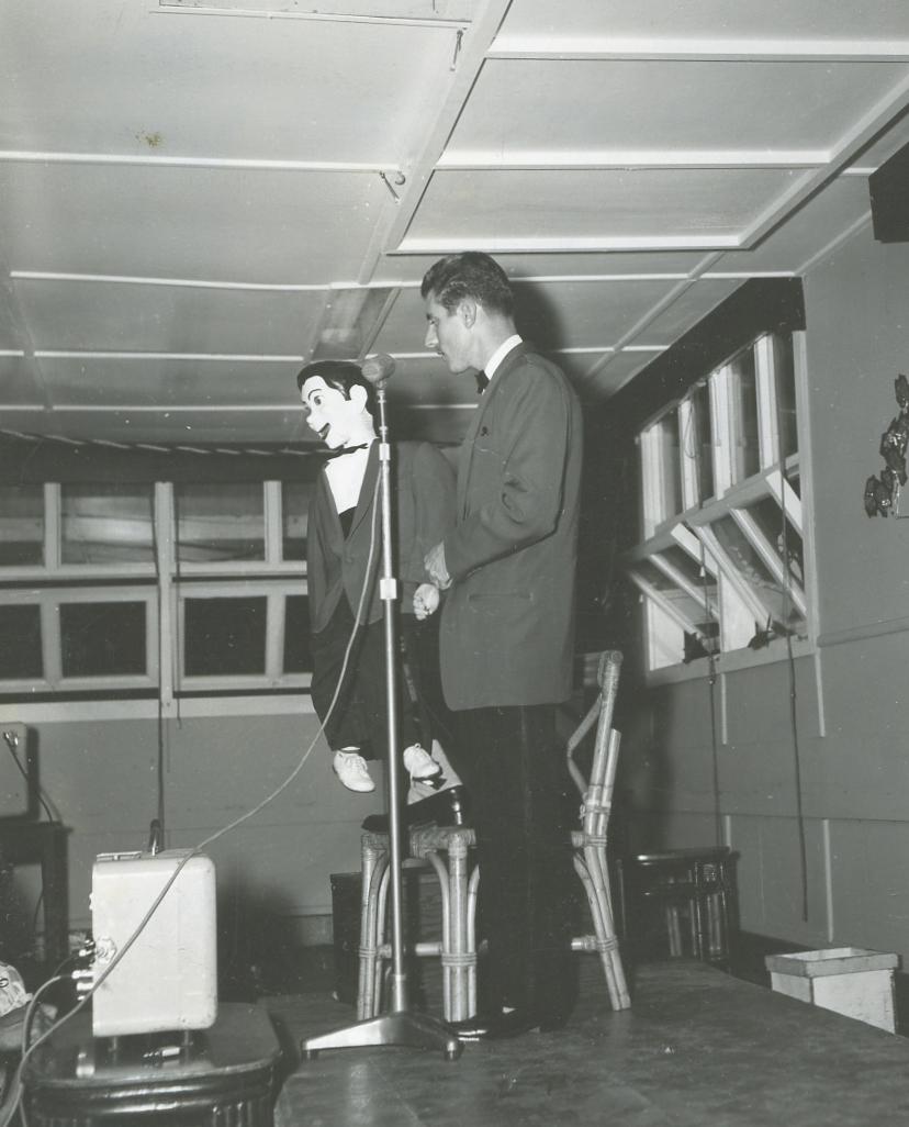 Bob Harvey PI  1956 vent em club