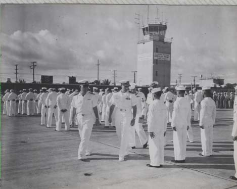 sangley-point-capt-lang-captains-inspection-1958