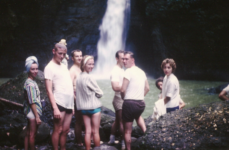 sylvia-dave-svendsgaard-and-duck-snyder-at-pagsanjan-falls