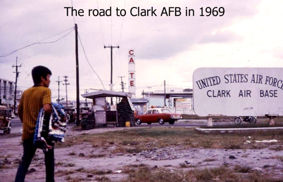The Road to Clark AFB 1969