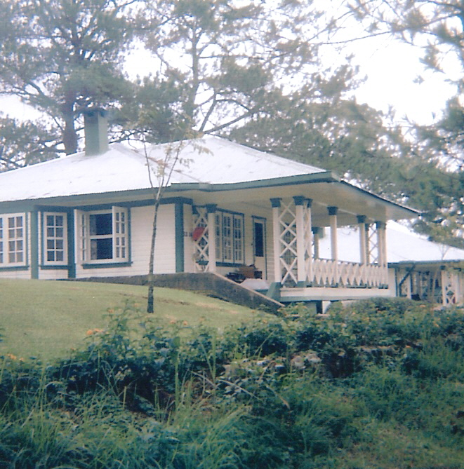cabin at Camp John Hay